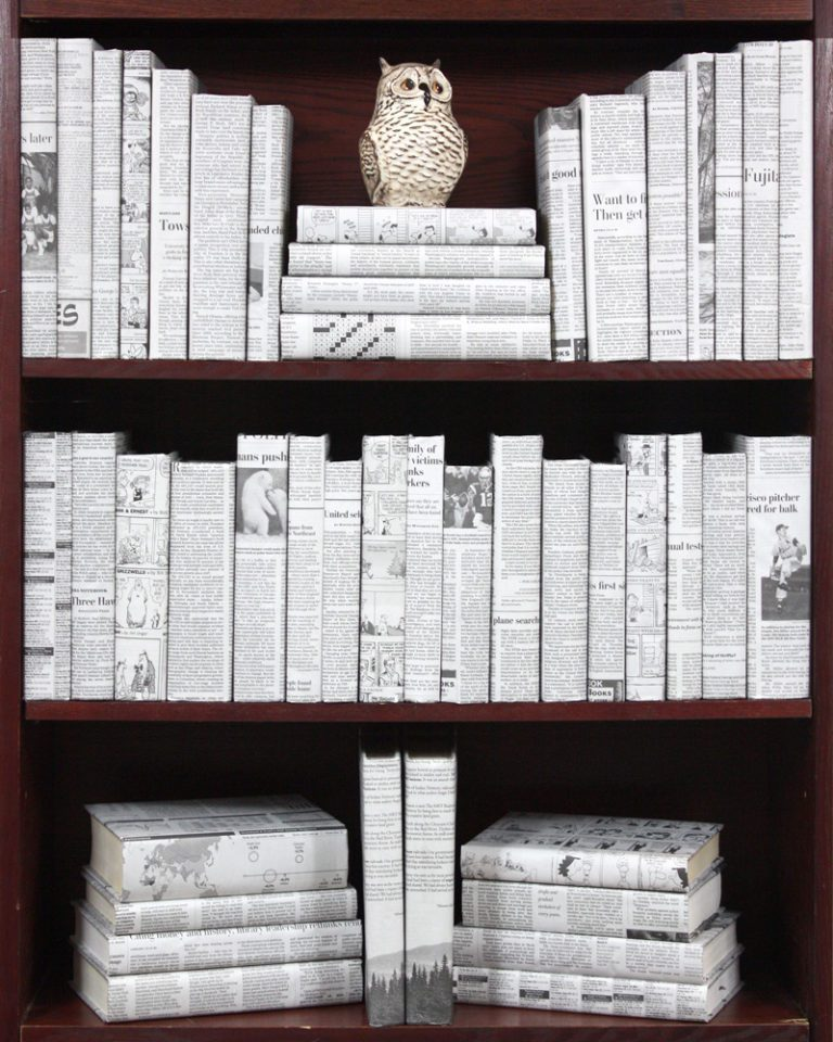 Newspaper Wrapped