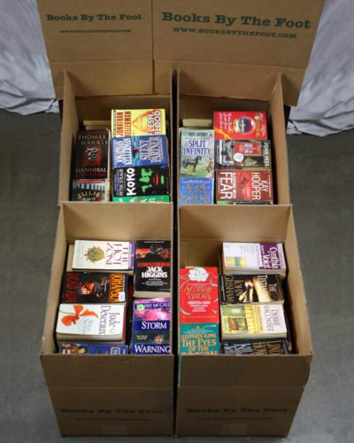 Boxed Mass Market Paperbacks
